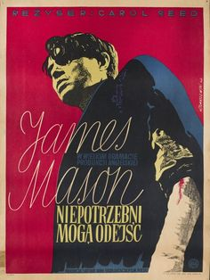 Henryk Tomaszewski, Odd Man Out, film poster, image courtesy of Filip Pągowski - photo 1 Polish Movie Posters, Film Posters, Poster Online, Circus Poster, Vintage Graphic Design, Original Movie Posters, National Gallery Of Art, Cool Posters, Graphic Posters