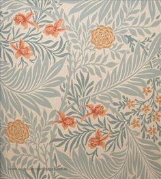 William Morris Larkspur (Engelska Tapetmagasinet)