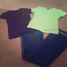 2 Ralph Lauren Sport t-shirt Two Ralph Lauren Sport round neck t-shirts, S. Each shirt has been hardly worn and is in excellent condition. These shirts fit true to size. Ralph Lauren Tops Tees - Short Sleeve