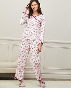 2b72eab839 Asian Wrap Organic Cotton Pajamas L