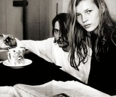 Classic Johnny Depp & Kate Moss