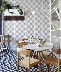 Carefully blended Sydney retail/café space is every design obsessive's cup of tea...