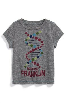 RAD shirt honoring Rosalind Franklin. Can we get this in a not-baby size?? | Nordstrom