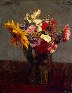 Henri Fantin-Latour  Flowers  1860
