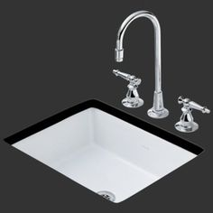Kohler K2330-N-0 Kathryn Undermount Bar Sink - White... not sure it's so great having a SINK with my name, but it IS a cool sink!