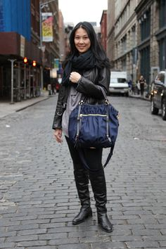 On The Street | Bianca Navy Bedford