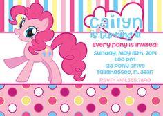 Mi pequeño Pony Pinkie Pie inspirado por InviteMeToTheParty en Etsy, $10.95
