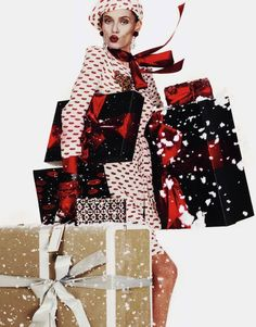 The Vogue Paris Guide to Wrapping Christmas Presents - Coco's Tea Party