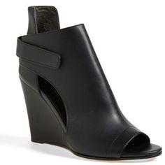Vince 'Katia' Leather Wedge Bootie (Women)