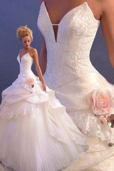 Vestido de noiva.
