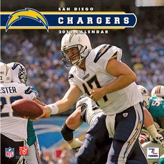 San Diego Chargers Wall Calendar: Specially designed for the die-hard San Diego Chargers fan, Turner Licensing presents the ultimate 2013 NFL wall calendar! Your favorite players are displayed in vivid action-packed images along with player bios, team trivia and noteworthy NFL historical dates every month.  $15.99  http://calendars.com/San-Diego-Chargers/San-Diego-Chargers-2013-Wall-Calendar/prod201300001253/?categoryId=cat00506=cat00506#
