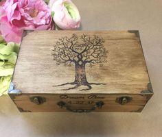 Wedding Card Box - Rustic Decor - Anniversary Gift - Rustic Wedding Card Box - Memory Box - Time Capsule - Love Letter box - Wedding Gift