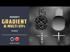 How to apply gradient on a object with redshift [CINEMA 4D TUTORIAL] - YouTube