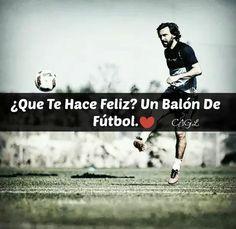 ¿Qué te hace Feliz? Un Balón de Fútbol