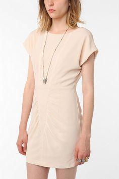 UrbanOutfitters.com > Silence & Noise Deep Scoop-Back Crepe Dress