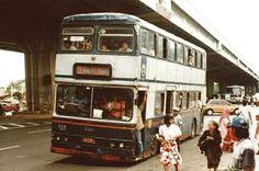 PPD Double Dekker Bus in Jakarta