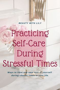 Healthy Living Tips Self-Care During Stressful Times // Self-Care During The Holidays // Self-Care Tips // Simple Things To Do For Yourself // Simple Ways To Practice Self-Care Take Care Of Yourself, Improve Yourself, Trauma, Self Care Activities, Thing 1, Self Care Routine, How To Apply Makeup, Self Improvement, Lifehacks