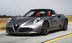The 2016 Alfa Romeo 4C Spider is an Italian exotic with race-track performance at a bargain price | Alfa Romeo