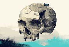 http://www.debutart.com/artist/simon-prades/skull-cicero
