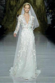 La #robe de mariée Elie Saab 2014 #wedding