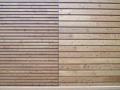 Panel de madera para fachada OPENLAM® by Simonin