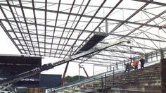 History Of Goodison Park Goodison Park, Everton Fc, Under Construction, Louvre, History, City, Building, Travel, Historia