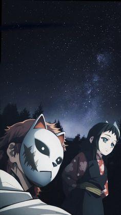 Read Kimetsu No Yaiba / Demon slayer full Manga chapters in English online! Otaku Anime, Manga Anime, Anime Demon, All Anime, Kitsune Mask, Dragon Slayer, Another Anime, Anime Screenshots, Slayer Anime