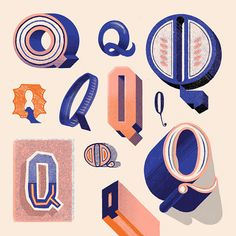 A hand lettering project I completed to create a different character in the alphabet a day for 36 days. Typography Alphabet, Creative Typography, Vintage Typography, Types Of Lettering, Lettering Styles, Lettering Design, Calligraphy Letters Design, Letter Collage, Doodle Fonts