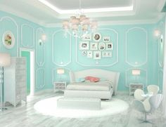 find this pin and more on robins egg blue - Bedroom Designs Blue