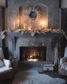 Home Details - Fireplace Cottage Fireplace, Home Fireplace, Fireplace Surrounds, Fireplace Design, Fireplace Mantels, Fireplaces, French Country Fireplace, Limestone Fireplace, Mantle