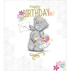 Happy Birthday To You Me to You Bear Card £1.89