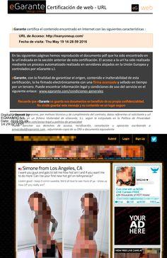 En @entusasuntos   recomiendan @egarante  entre los servicios online de certificación de contenidos digitales. http://www.meteteentusasuntos.es/eliminar-fotos-videos-internet-porno-venganza/