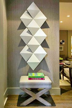 Wall Paneling Diy Foyers New Ideas Foyer Design, Wall Design, House Design, 3d Wall, Wood Wall Art, Interior Decorating, Interior Design, Interior Walls, Wall Spaces