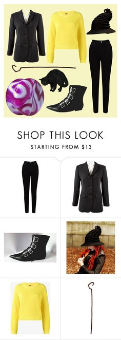 """""""Witch (Nightmare Before Christmas OC)"""" by deadmagenta on Polyvore featuring EAST, Emporio Armani and ADAM"""