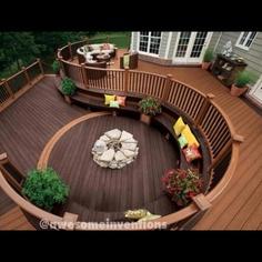 Cute deck