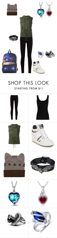 """""""Untitled #616"""" by in-seva on Polyvore featuring Gucci, Twenty, AS65, Ash, Pusheen, Miadora, Peermont and Hot Topic"""