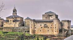 Castillo de los Condes de Benavente - Puebla de Sanabria, provincia de Zamora