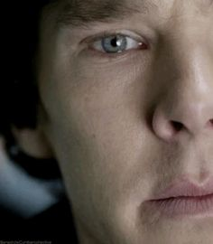 Benedict Cumberbatch,  BBC Sherlock, Benedict Cumberbatch, The Great Game, TV Show, Eyes, Gif