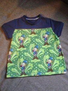 Shirt MixMeBoy nach dem Freebook von Nemada 'Aus Wickiejersey von Stoff&Liebe