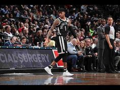 54246b53912 D Angelo Russell Catches Fire   Knocks Down 7 Threes IN THE FIRST QUARTER!