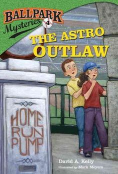 The Astro Outlaw (Ballpark Mysteries)