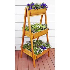 Easy A-Frame Planter Woodworking Plan from WOOD Magazine
