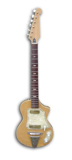 Not British-built but available in the UK as either the Guyatone LG-50, the Vox Shadow (until 1963), the Antoria LG-50 or the Star EG-80. All made by Guyatone and re-badged accordingly.