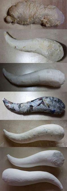 Horn DIY - Spray foam = Horn