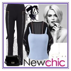 """""""NewChic"""" by mamiigou ❤ liked on Polyvore featuring Whiteley, chic and newchic"""