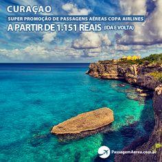 Promoção de passagem aérea para Curaçao com saída de três cidades e preços a partir de R$1151.  Datas e ofertas: https://www.passagemaerea.com.br/promocao-curacao-2015.html  #curacao #caribe #passagemaerea