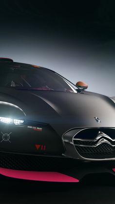 Cool black Citroen car