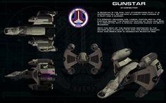 Gunstar starfighter ortho by unusualsuspex.deviantart.com on @deviantART