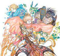 """Final Fantasy"" x ""Monster Strike"" Collaboration Drums Up Awesome Yoshitaka Amano Art"