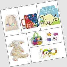 Coffret cadeau enfant - ZAZOPACK+ TIWA FERME 6-9 Mois - 63.00€  -  Une idée de cadeau originale pour Noel ou juste pour faire plaisir: Si vous aimez les box cadeaux, vous aimerez ce coffret tout en un.